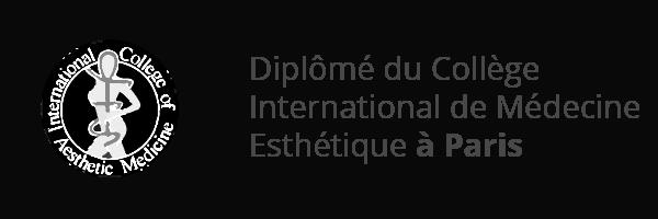 Logo do collège international de médecine esthétique